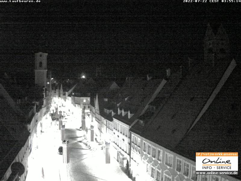 Bild der Webcam in die Kaiser-Max-Straße