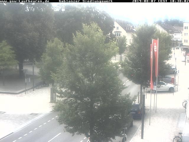 Bild der Webcam vom Gablonzer Siedlungswerk